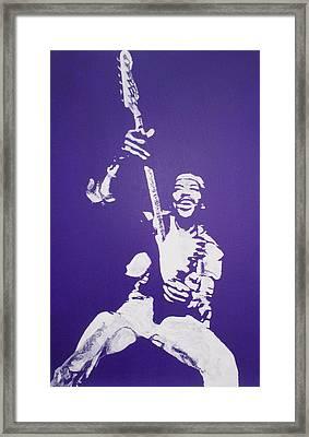 Purple Haze Framed Print by Gary Hogben