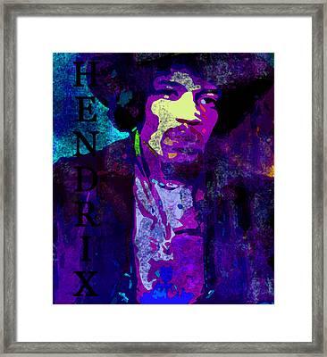 Purple Haze Original Work Framed Print by David Lee Thompson