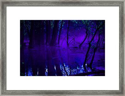 Purple Haze Framed Print by Valarie Davis