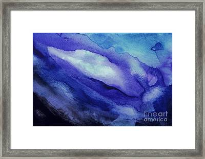 Purple Hues Framed Print