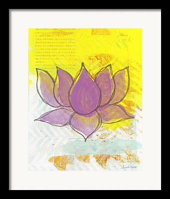 Lotus Blossoms Framed Prints