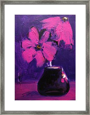 Purple Madness Framed Print