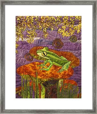 Purple Mist Framed Print by Lynda K Boardman