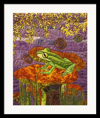 Art Quilts Tapestries Textiles Framed Prints