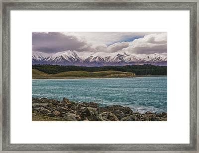 Purple Mountain's Majesty Framed Print