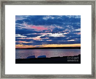 Purple Night Framed Print
