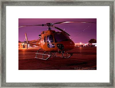 Purple Night Framed Print by Ray Franks