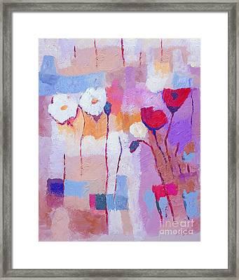 Purple Pale Framed Print by Lutz Baar