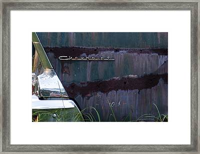 Purple Palette Framed Print by Ed Waldrop