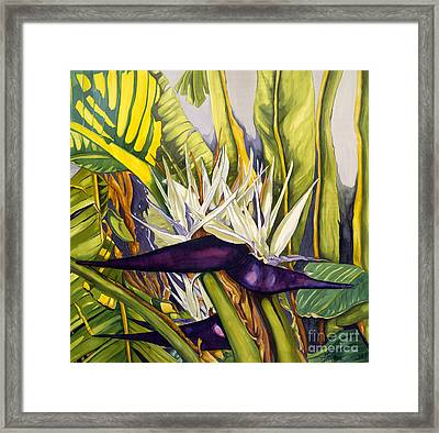 Purple Paradise Framed Print