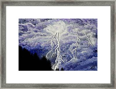 Purple Passion Framed Print by Sherry Allen