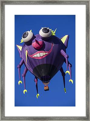 Purple People Eater Framed Print by Garry Gay