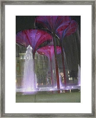 Purple Reign Texas Christian University Framed Print