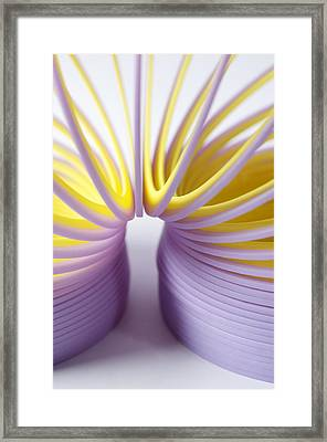 Purple Spring Framed Print by Kenneth Feliciano