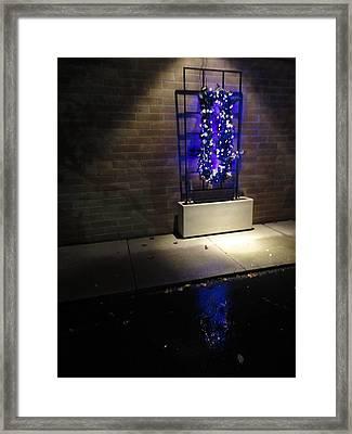 Purple Testament Framed Print by Guy Ricketts