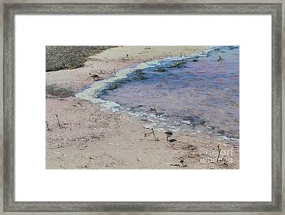 Framed Print featuring the photograph Purple Waters by Jeanne Forsythe