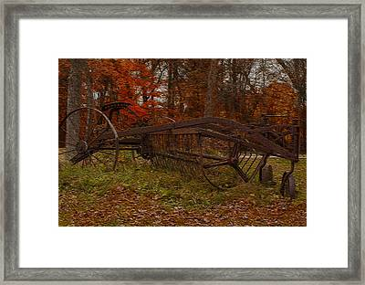 Purpose Served Framed Print by Jack Zulli