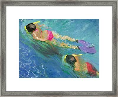 Pursuit, 2005 Oil On Board Framed Print