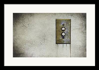 Push Button Framed Prints