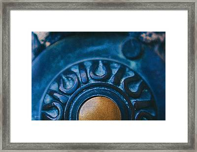 Push To Open Framed Print by Jim Pavelle