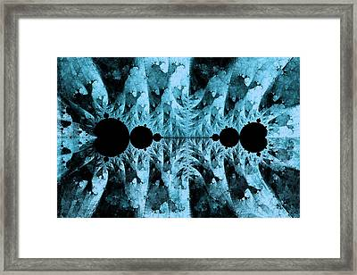 Push Me Pull You No. 1 Framed Print by Mark Eggleston