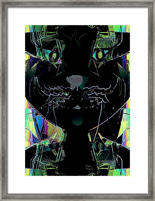 Pussy Cat Framed Print by Natalie Holland