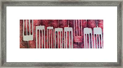 Put A Fork In It  Framed Print