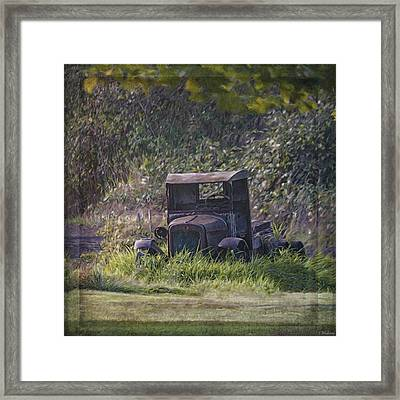 Put Out To Pasture Framed Print by Jordan Blackstone
