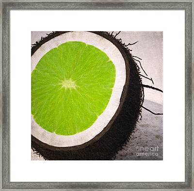Put The Lime In The Coconut Framed Print by Philip G