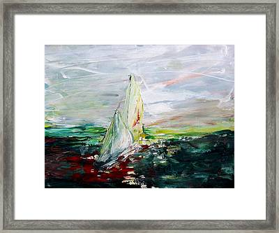 Put To Sea Framed Print