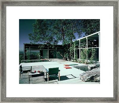 Putnam Home In Bellevue Framed Print