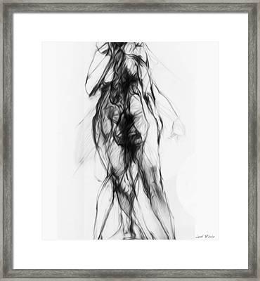Putsche 5761 Faire Lamour Framed Print by Sir Josef - Social Critic -  Maha Art