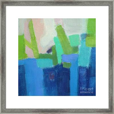 Puzzeled I Framed Print by Virginia Dauth