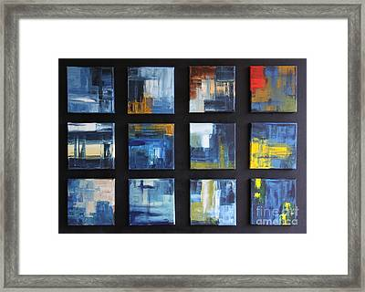 Puzzle I Framed Print by Christiane Schulze Art And Photography