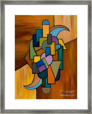 Puzzle IIi Framed Print by Larry Martin