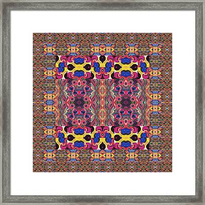Puzzled 2 - The Joy Of Design Series Compilation Framed Print by Helena Tiainen
