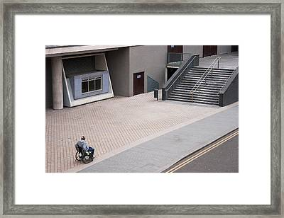 Puzzled Framed Print by Marcel Huibers
