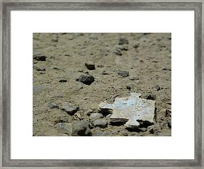 Puzzled Piece Framed Print by Jonathon Sitton
