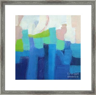 Puzzled Framed Print by Virginia Dauth