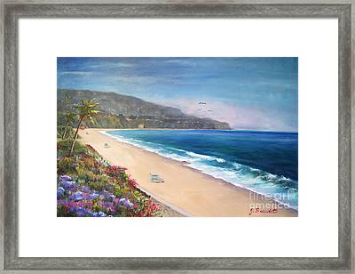 P.v. View Framed Print by Jennifer Beaudet