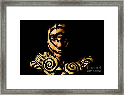 Framed Print featuring the photograph Pw Ar001 by Kristen R Kennedy