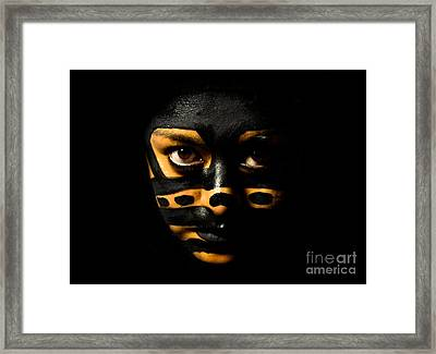 Framed Print featuring the photograph Pw Ev001 by Kristen R Kennedy