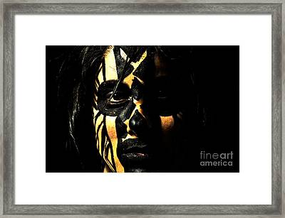 Framed Print featuring the photograph Pw Kh001 by Kristen R Kennedy