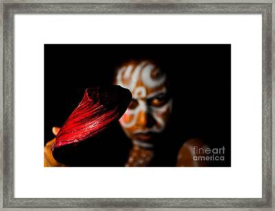 Framed Print featuring the photograph Pw Kr001 by Kristen R Kennedy
