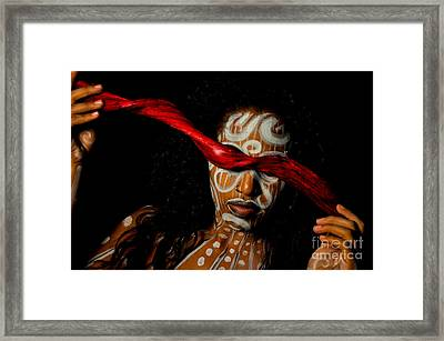 Framed Print featuring the photograph Pw Kr002 by Kristen R Kennedy