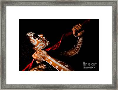 Framed Print featuring the photograph Pw Kr003 by Kristen R Kennedy