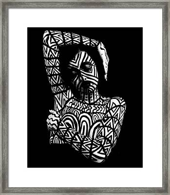 Pw Ml005 Framed Print
