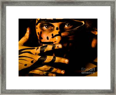 Framed Print featuring the photograph Pw Rp005 by Kristen R Kennedy