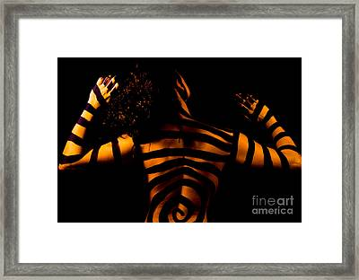 Framed Print featuring the photograph Pw Sh004 by Kristen R Kennedy