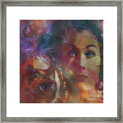 Pyewacket And Gillian - Square Version Framed Print by John Beck